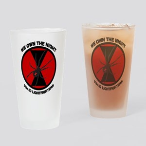 We Own The Night Drinking Glass