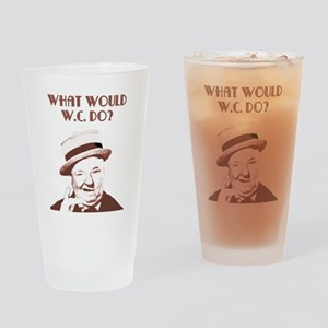 What would W.C. do? Drinking Glass