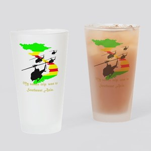 Senior Trip Drinking Glass
