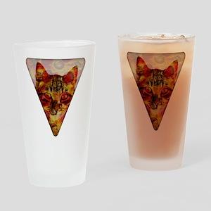 PizzaCat Slice Drinking Glass
