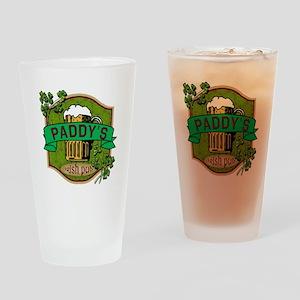 Paddy's Irish Pub Drinking Glass