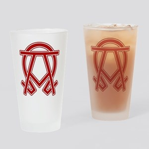 Dexter Doomsday Alpha Omega Drinking Glass