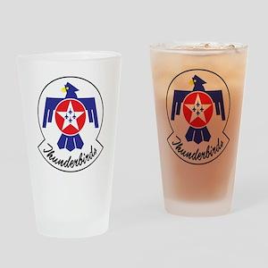 USAF Thunderbirds Emblem Drinking Glass