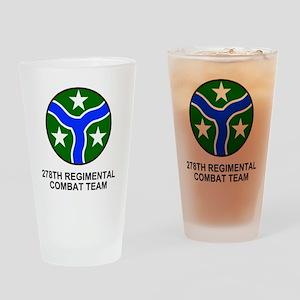 ARNG-278th-RCT-Shirt Drinking Glass