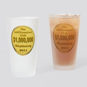 1M_Club_goldcoin_transparent Drinking Glass