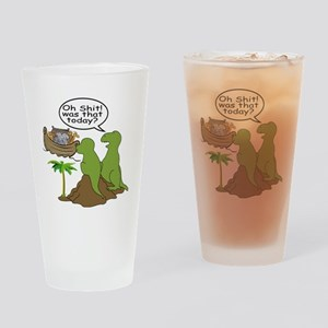 Oh Shit... Drinking Glass