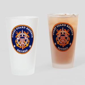 USCGR-Retired-Bonnie Drinking Glass