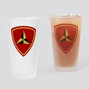 3rd Marine Division Drinking Glass