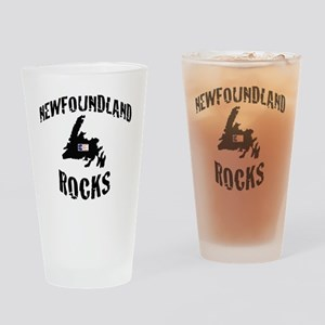 NEWFOUNDLAND ROCKS Drinking Glass