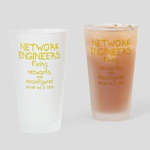 network-engineers-dk Drinking Glass