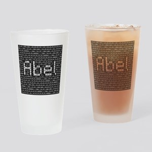Abel, Binary Code Drinking Glass