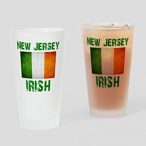 new_jersey_irish_2 Drinking Glass