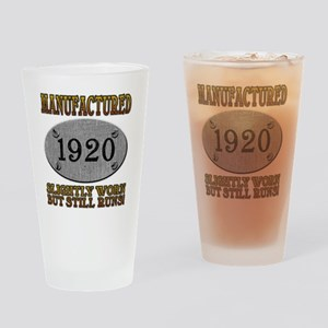 1920 Drinking Glass