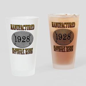 1928 Drinking Glass