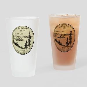 Oregon Quarter 2005 Basic Drinking Glass