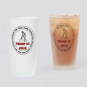 troop 62 Drinking Glass