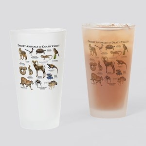 Animals of Death Valley Drinking Glass