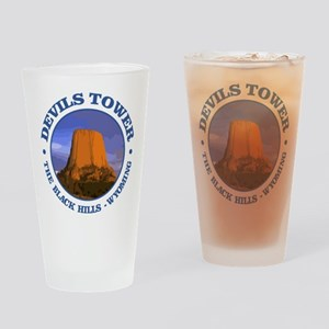 Devils Tower (rd) Drinking Glass
