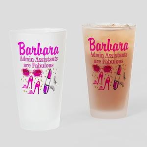 CUSTOM ADMIN ASST Drinking Glass