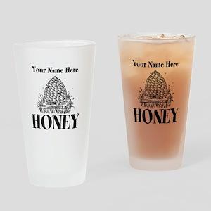 Vintage Honey Drinking Glass