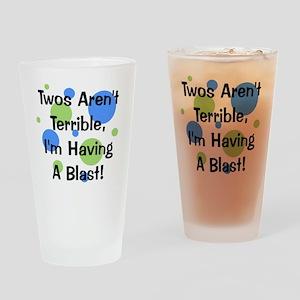 circles_twosarentterrible Drinking Glass