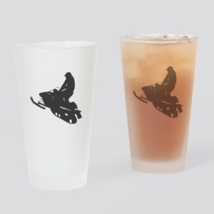 Snowmobile - Snowmobiling Drinking Glass