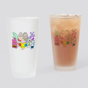 Allie and Friends Drinking Glass