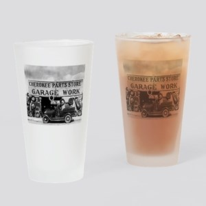 Cherokee Parts Store Depression Vin Drinking Glass