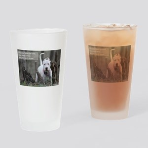 Brave Spirit - Dogo Argentino Drinking Glass