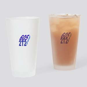 605/2t2 cube Drinking Glass