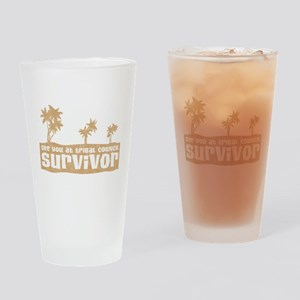 See You at Tribal Council Pint Glass