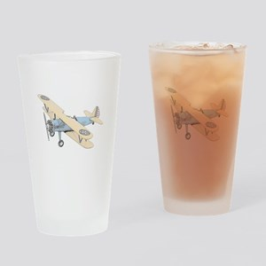 Stearman PT-17 Bi-Plane Drinking Glass