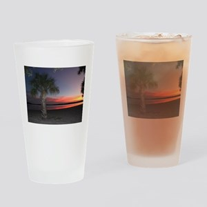 A Florida Sunset Drinking Glass
