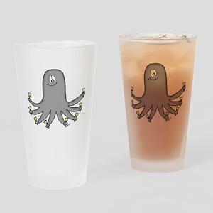 Octopus Handbells Drinking Glass