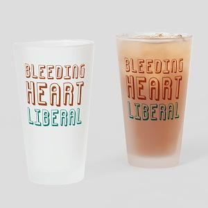 Bleeding Heart Liberal Pint Glass