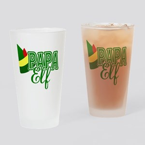 Papa Elf Elf Movie Drinking Glass