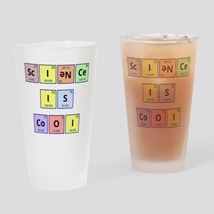 Science is Cool Drinking Glass
