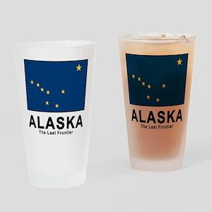 Alaska Flag Pint Glass