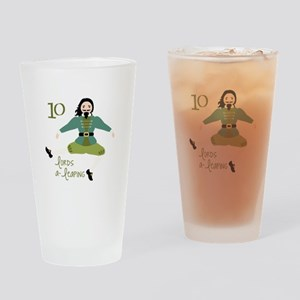 10 loRDS a- leaPiNG Drinking Glass