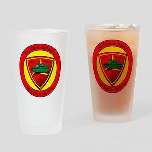 3rd Tank Battalion Drinking Glass