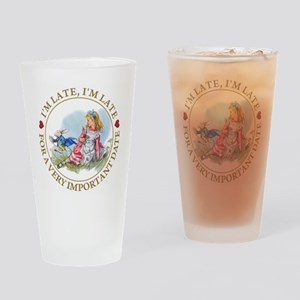 I'm Late , I'm Late, For a Very Imp Drinking Glass