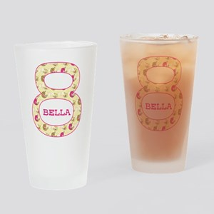 8th Birthday Personalized Drinking Glass