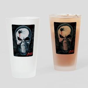 Punisher Skull X-Ray Drinking Glass