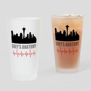 Grey's Anatomy Seatle Drinking Glass