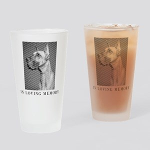 In Loving Memory Personalized Drinking Glass