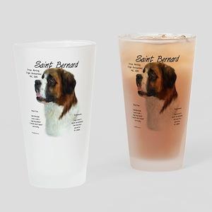 Saint Bernard (Rough) Drinking Glass