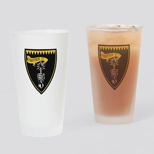 VFA-27 Royal Maces Drinking Glass