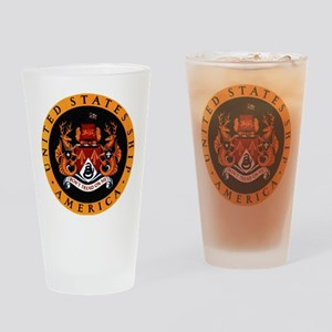 USS America Pint Glass