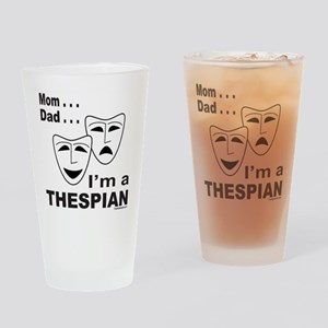 ACTOR/ACTRESS/THESPIAN Drinking Glass