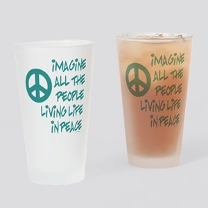 Hands of Peace Drinking Glass